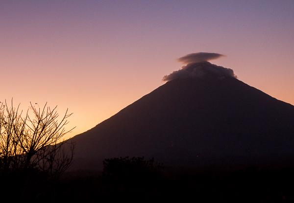Coucher de soleil - El Encanto - Ometepe, Nicaragua