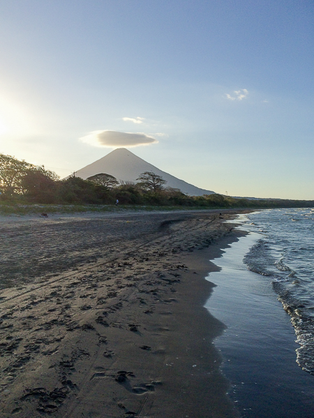 Des petits airs d'ange - Volcan Concepcion - Ometepe, Nicaragua
