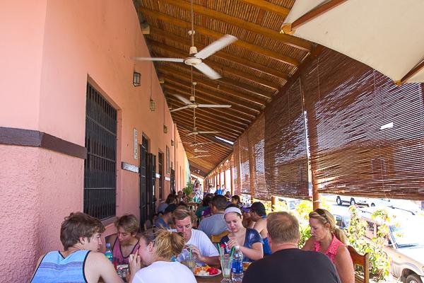 Kathy's Waffle House - la terrasse, Granada, Nicaragua