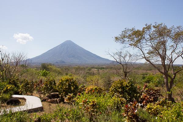 La vue de notre spot déjeuner - El Encanto - Ometepe, Nicaragua