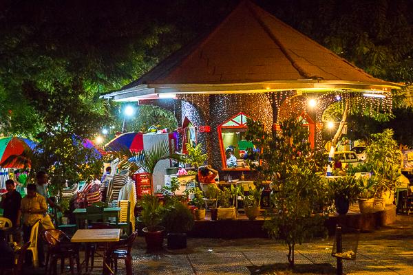 Le Parque Central, Granada, Nicaragua