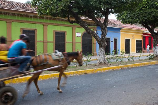 Les couleurs de Granada, Nicaragua