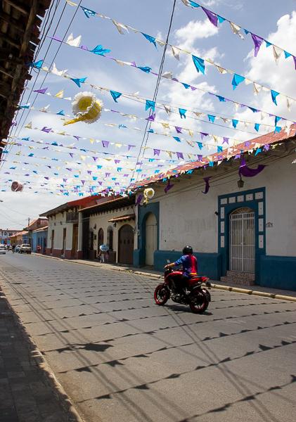 Las fiestas de Pascua son coloridas en Nicaragua, aquí en León