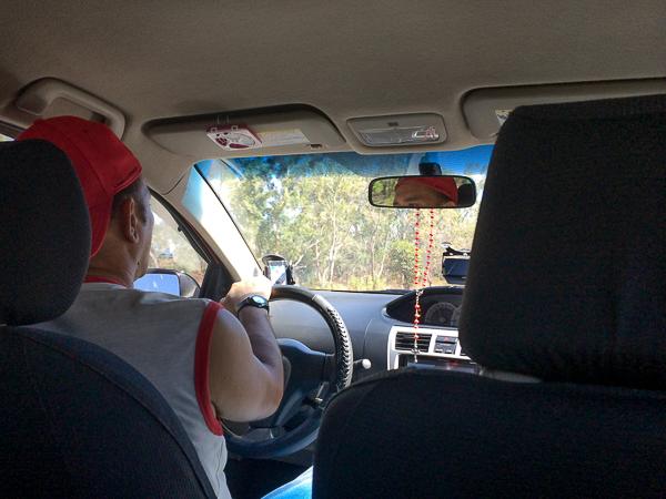 Mario, notre chauffeur de Paxeos - Managua à Granada, Nicaragua