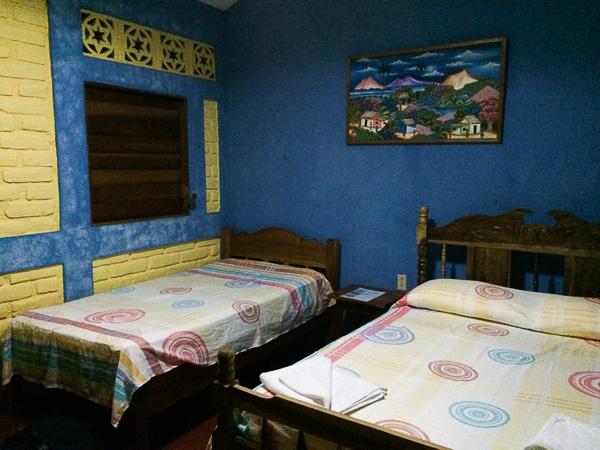 Notre chambre - El Encanto - Ometepe, Nicaragua