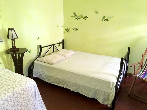 Notre chambre au Hostal Entre Amigos, Granada, Nicaragua
