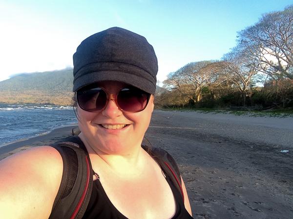 On the beach - Ometepe, Nicaragua