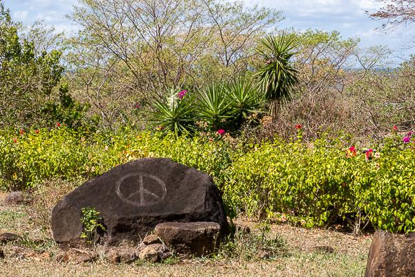 Paysage de El Encanto, Santa Cruz - Ometepe, Nicaragua