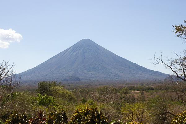 Volcan Concepcion vu de El Encanto, Ometepe, Nicaragua