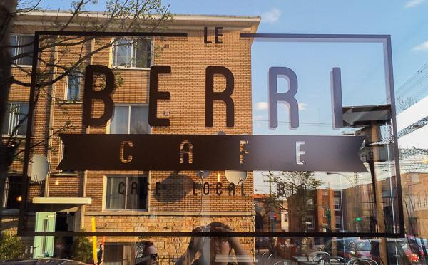 Affiche - Le Berri Café Villeray