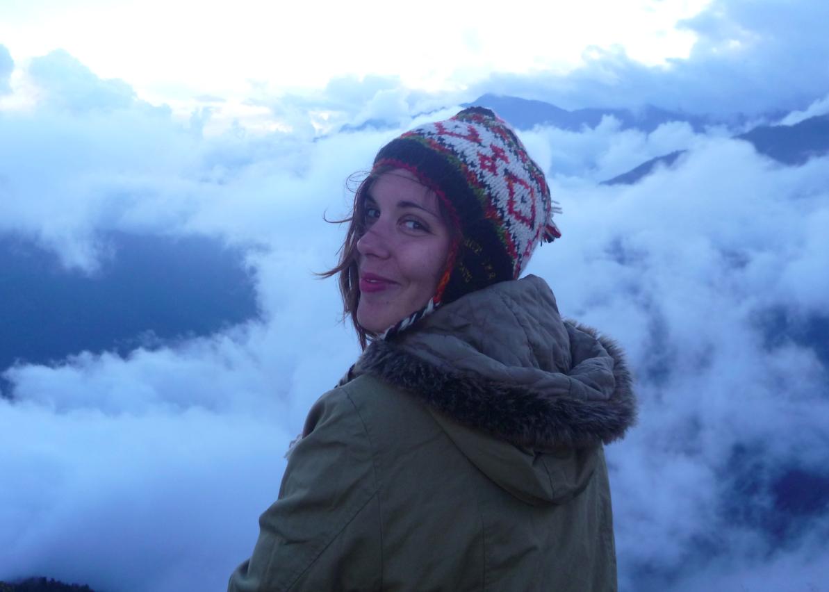 Aude Mermilliod - La Fille Voyage léger