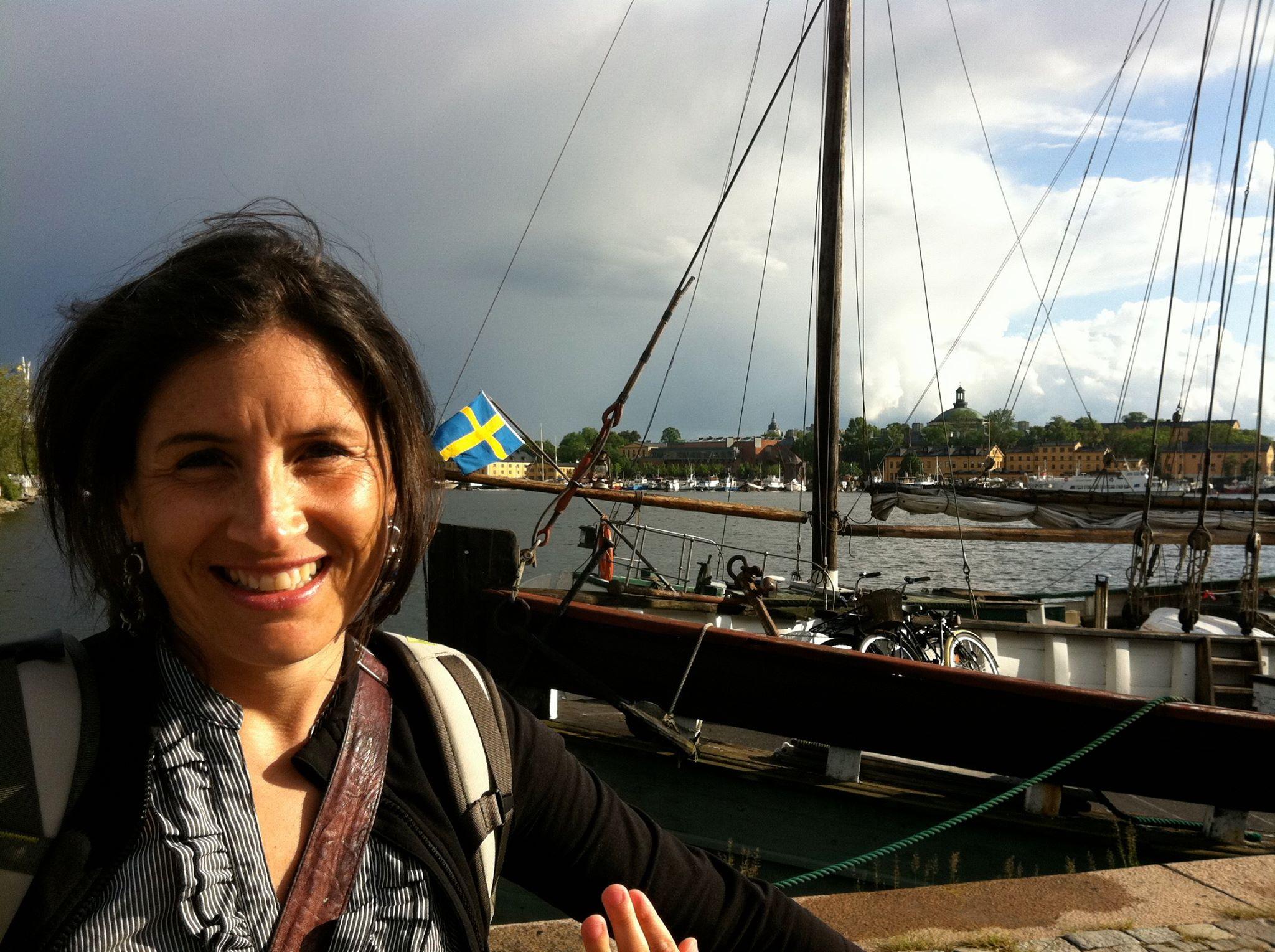 Isabelle Marjorie Tremblay - voyager avec peu de bagages en Suisse