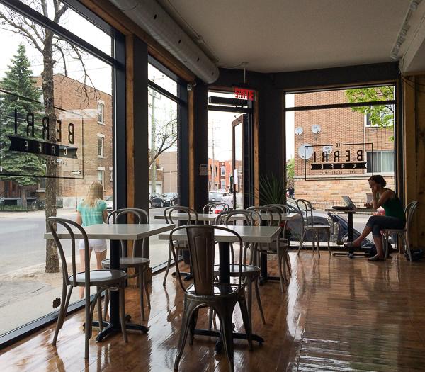 Salle à manger - Le Berri Café Villeray