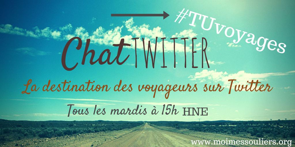 Twitter Chat #TUvoyages
