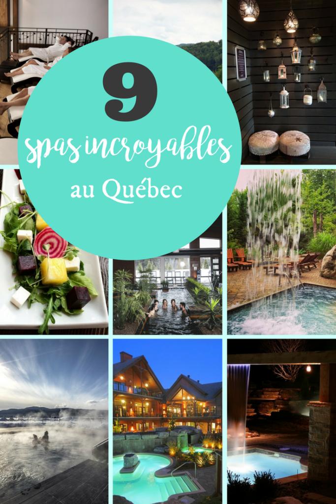 9 spas incroyables au Québec