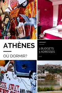 Où dormir à Athènes 3 budgets, 3 adresses