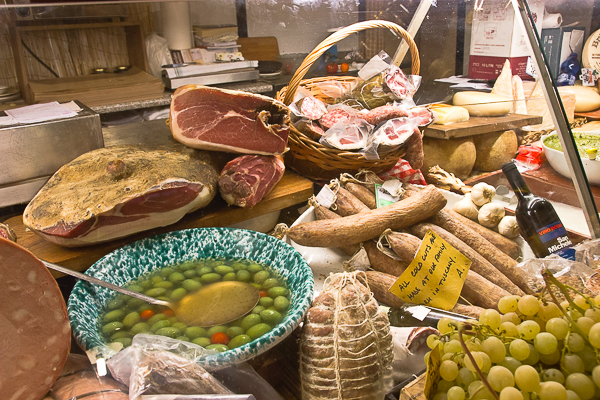 Alimentari Uffizi - Florence, Toscane, Italie