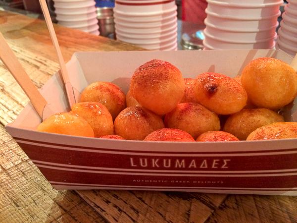 Loukoumades - quoi manger en Grèce