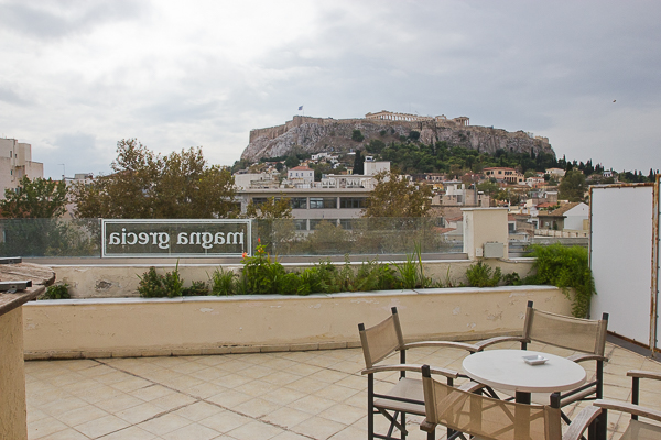Magna Grecia Athènes Grèce - balcon terrasse