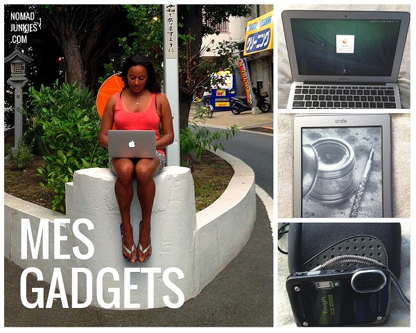 Mes gadgets - Safia - Nomad Junkies