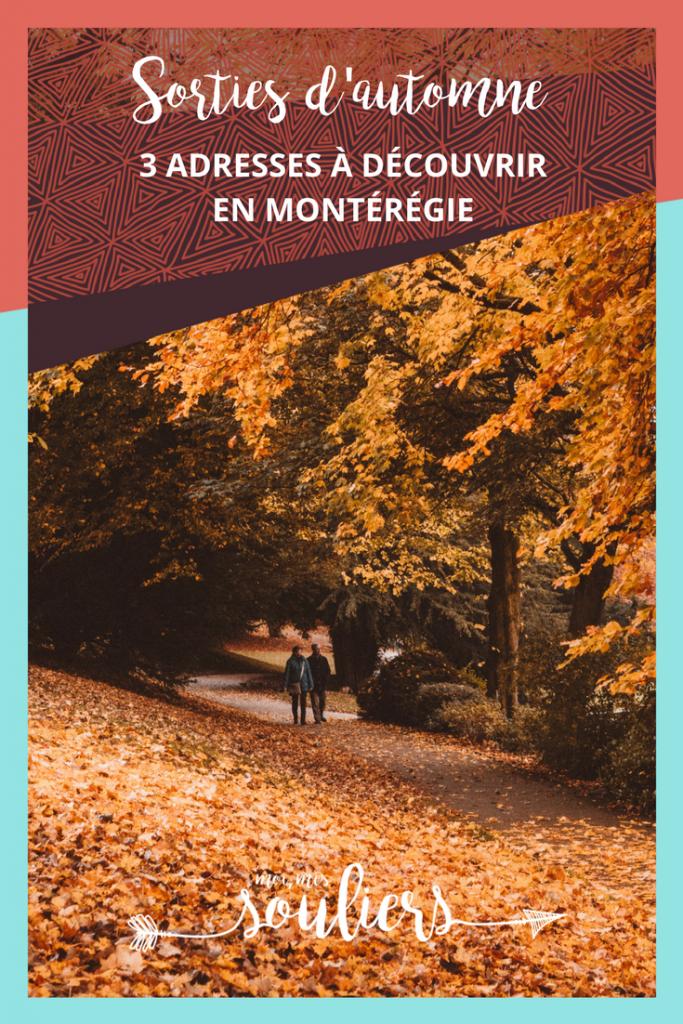 Sorties d'automne en Montérégie - Quoi faire