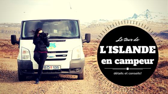 le tour de l'Islande en camping car