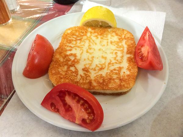 Saganaki - Quoi manger en Grèce (2)