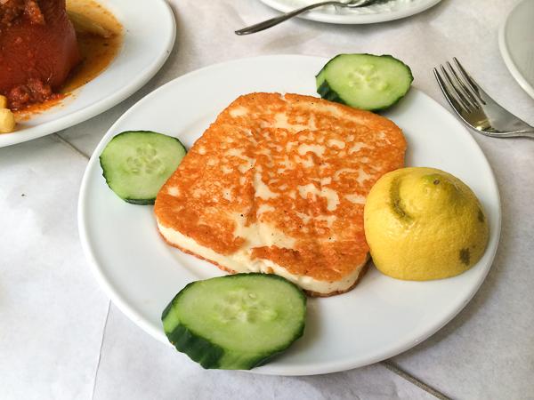 Saganaki - Quoi manger en Grèce