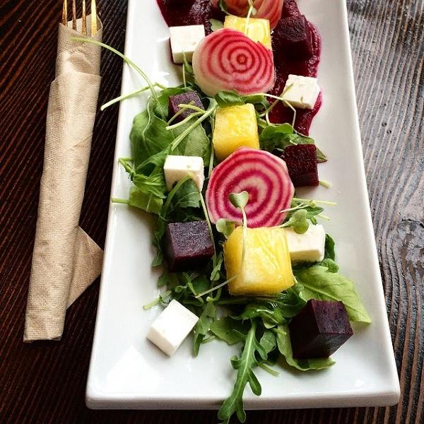 Salade de betteraves - La Source Bains nordiques