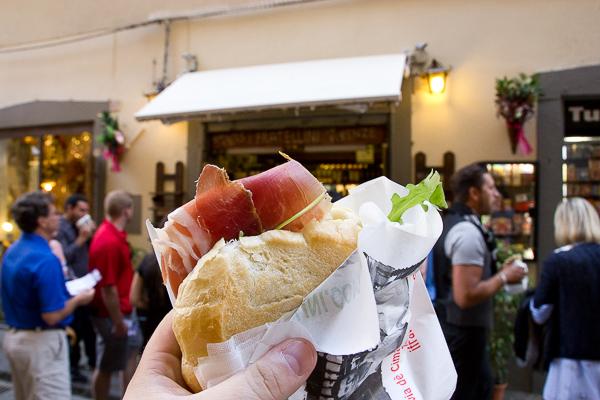 Sandwich I Due Fratellini - Florence, Toscane