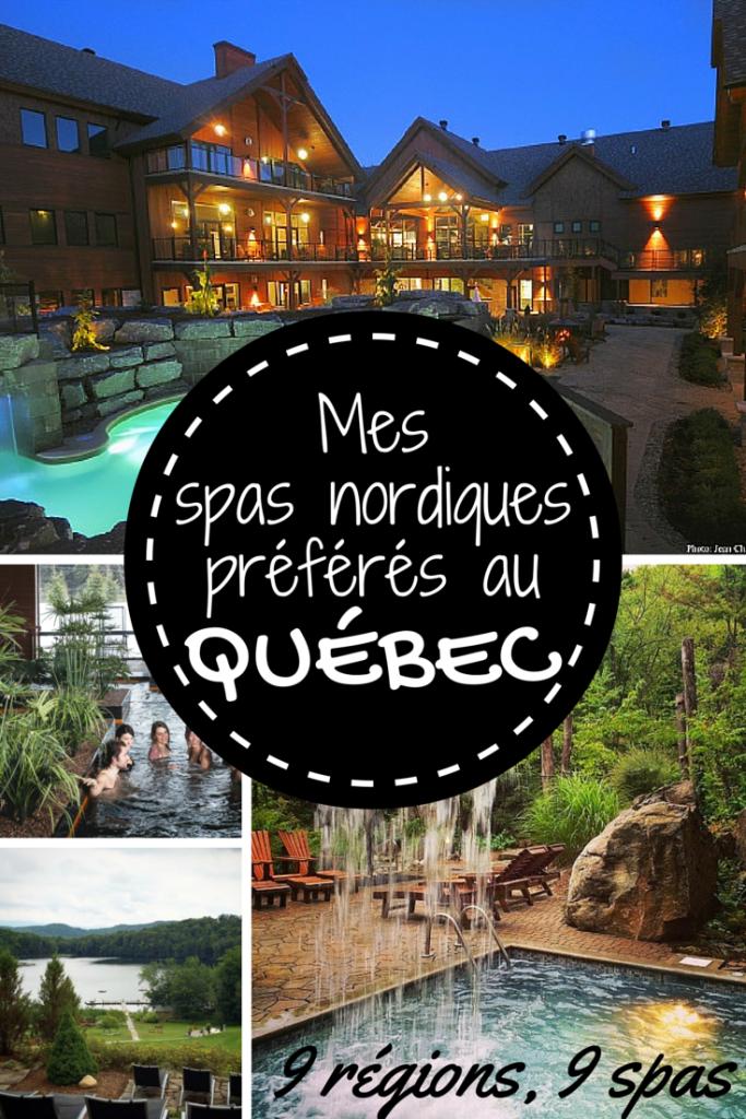 Mes spas nordiques préférés au Québec