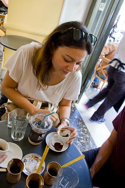 frappés de café grecs