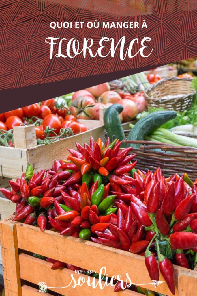 Meilleures adresses gourmandes à Florence