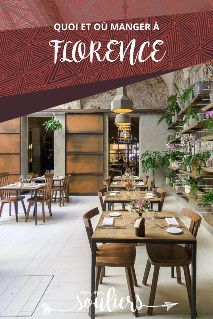 Quoi et où manger à Florence, Italie