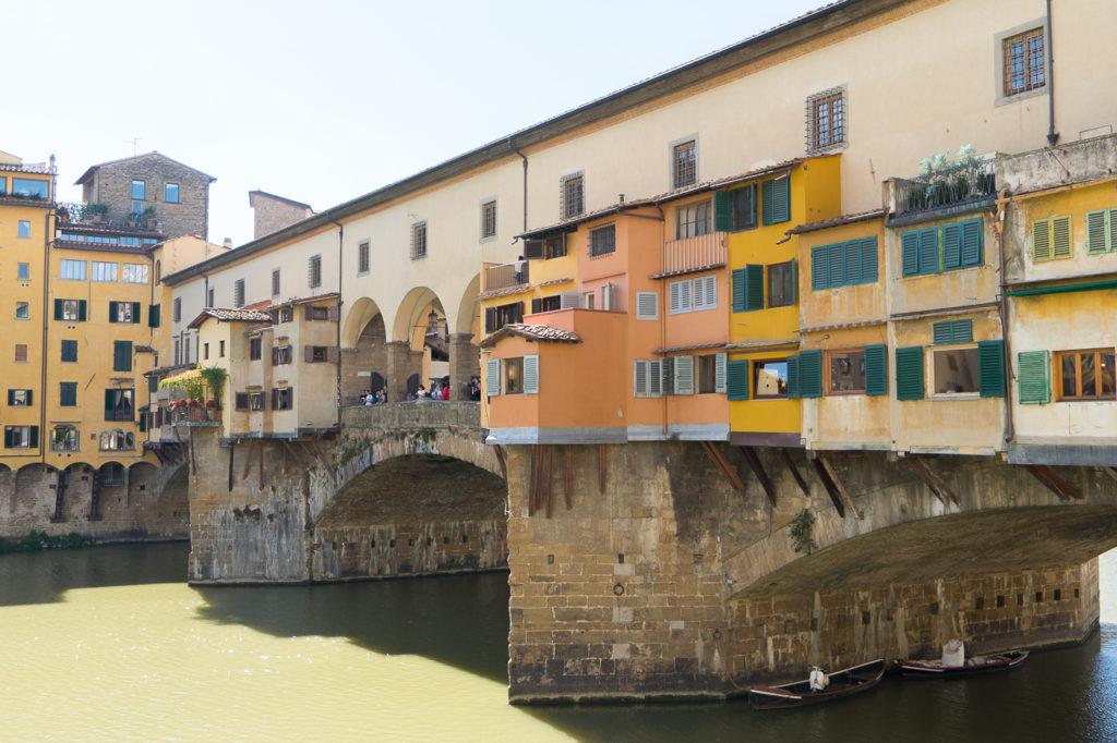 Quoi voir, quoi faire à Florence - Ponte Vecchio