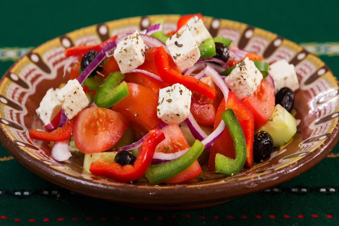 salade grecque - Pastel100 de Pixabay