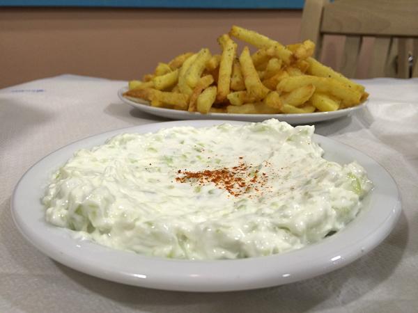 tzatziki, à manger en Grèce