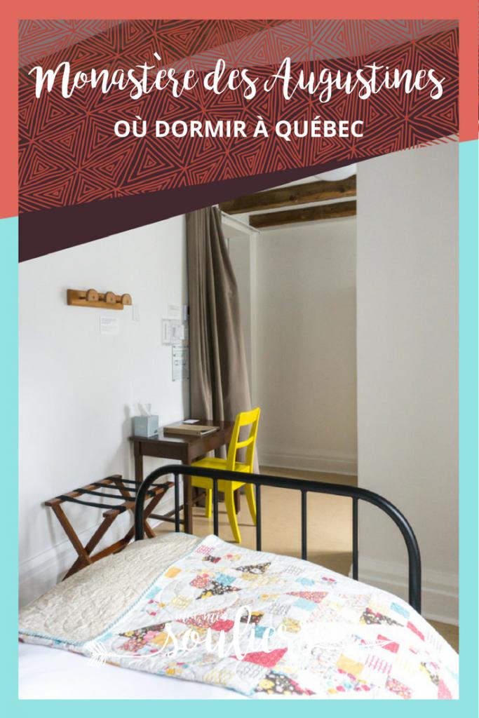 Voyage au Monastère des Augustines de Québec