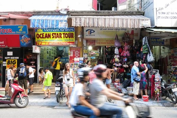 Boutiques de Hanoi, Vietnam