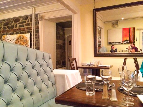 Chez Octave - Salle à manger - Selfie dans le miroir - Chaudière-Appalaches