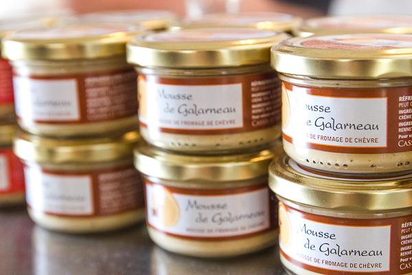 Fromage à tartiner Galarneau - Cassis et Mélisse - Chaudière-Appalaches