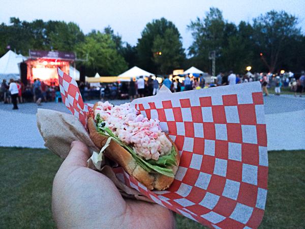 Guédille de homard - Mondial des Cultures de Drummondville