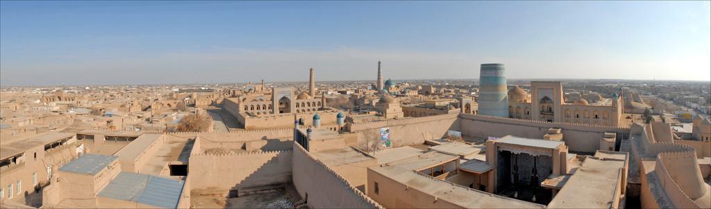 La vieille ville de Khiva (Ouzbékistan) - Jean-Pierre Dalbéra