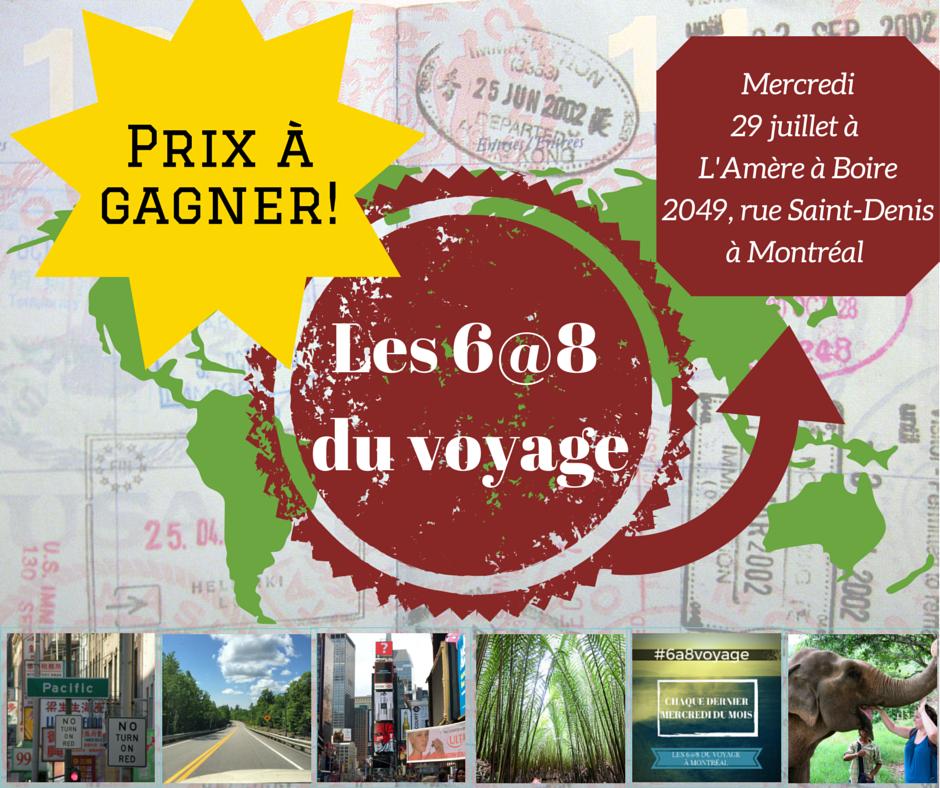 6 à 8 voyage Montréal