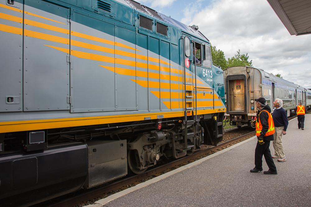 Pause sur le train Abitibi-Témiscamingue