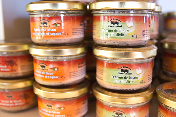 Terrines des Bisons Chouinards - Chaudière-Appalaches
