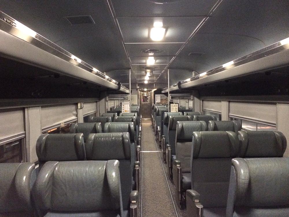 Train pour l'Abitibi-Témiscamingue - VIA Rail