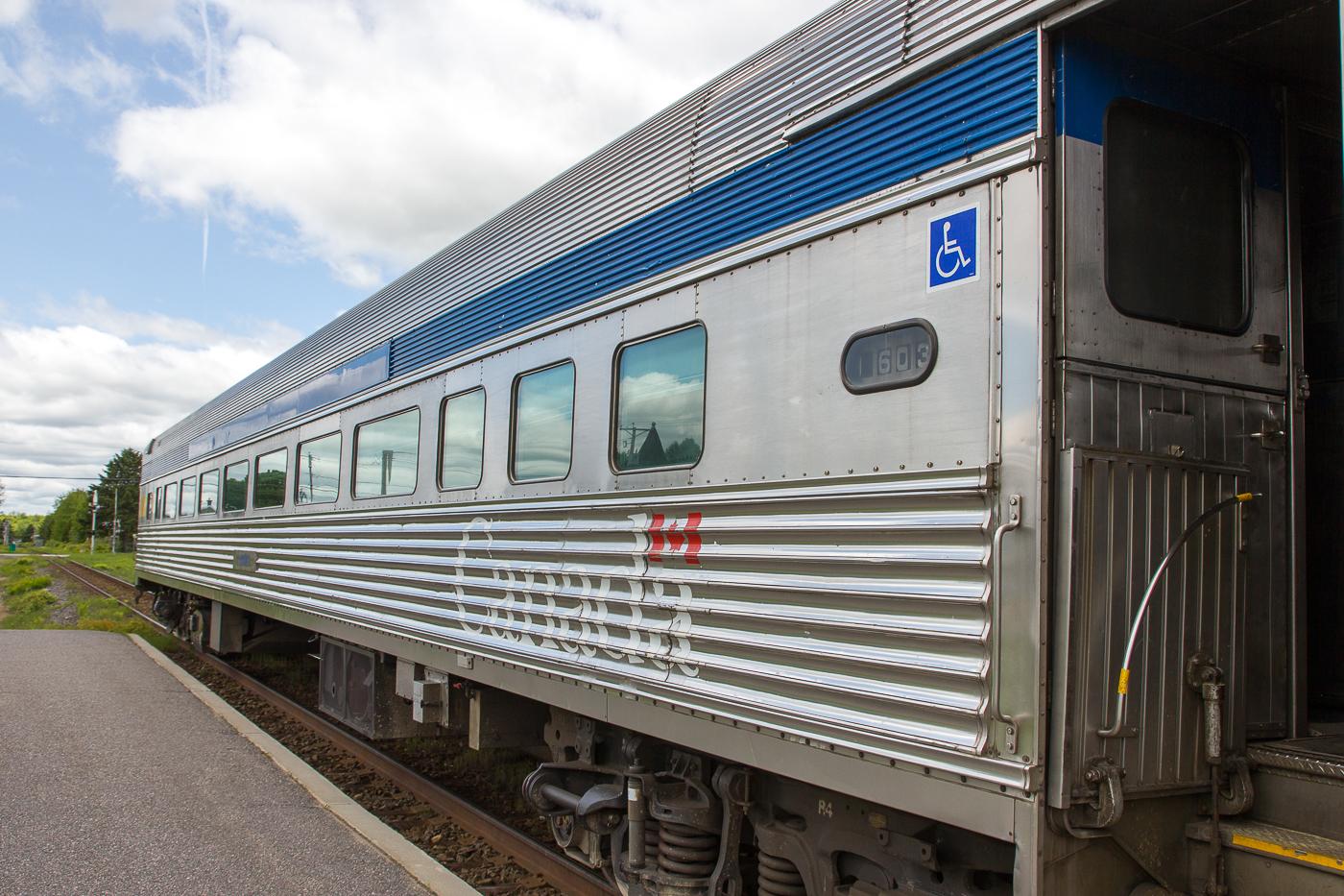 Train Montréal-Senneterre pour l'Abitibi-Témiscamingue - Via Rail Canada