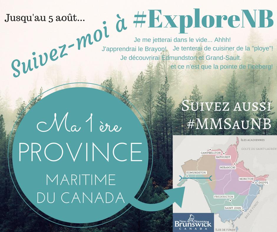 Nouveau-Brunswick #exploreNB