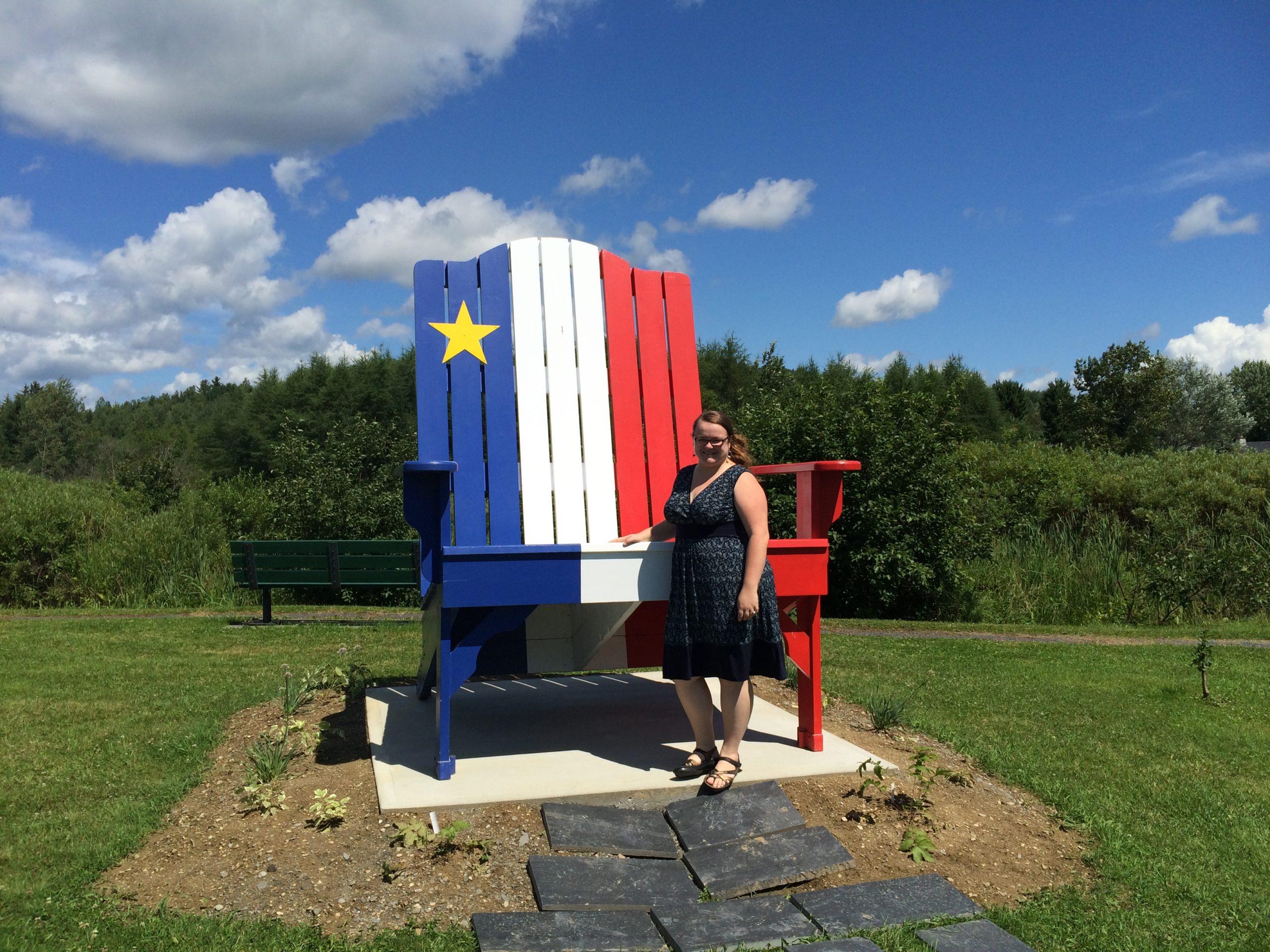 Jennifer Doré Dallas dans l'Acadie des terres et forêts - Edmundston, Nouveau-Brunswick